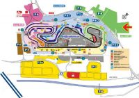 Billets F1 Grand Prix Barcelone <br />plan du parking Camping-Car<br />Circuit de Catalogne Montmelo