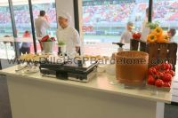 Piso Box - Show cooking