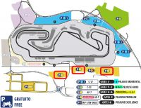 Billets F1 Barcelone parking C<br />Circuit de Catalogne Montmelo