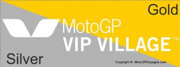Laissez-passer ARGENT & OR - JUNIOR /n MotoGP VIP VILLAGE™ du Grand Prix de Catalogne