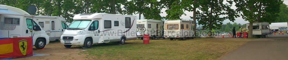 f1 parking camping car gp barcelone forfaits et billets gp barcelone. Black Bedroom Furniture Sets. Home Design Ideas